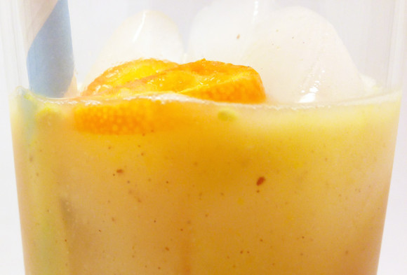 Coconut Kumquat Cocktail