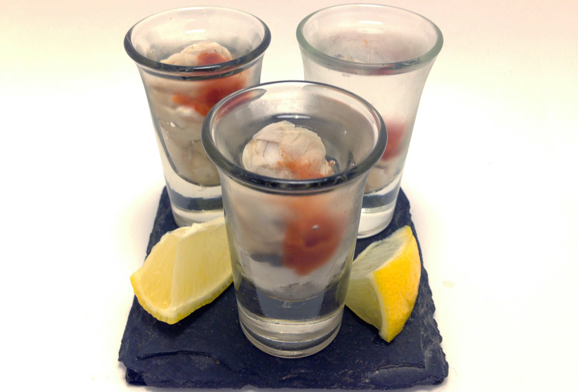 Oyster Shooter Oyster Shooters - Farm...